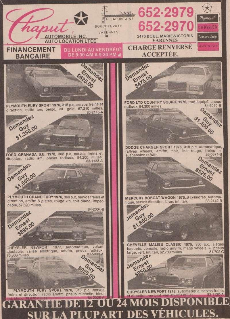 choix de char pour voyage en 1983 Chaput10
