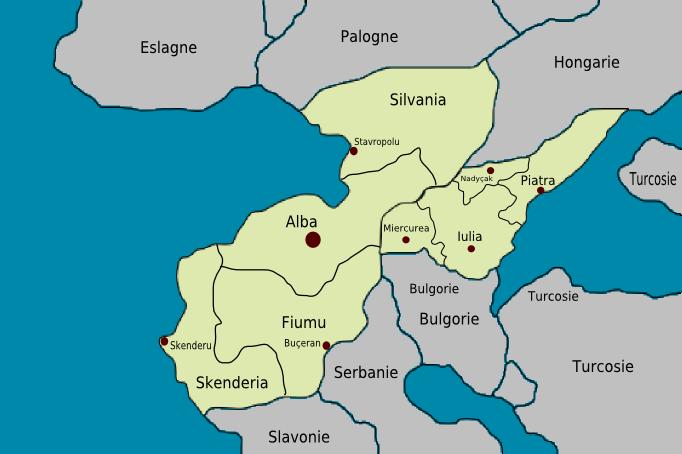 Provinces de Romanegra et Romania Provin11