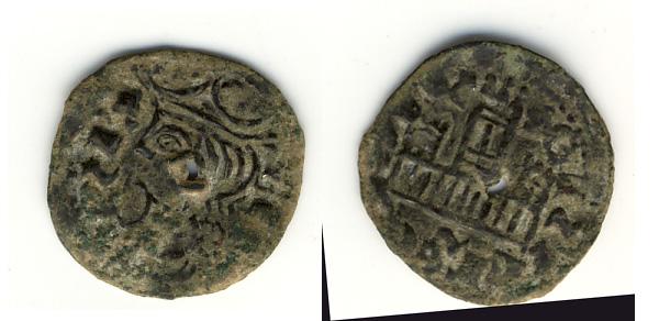 Cornado falso de época de Alfonso XI Sin-ti10