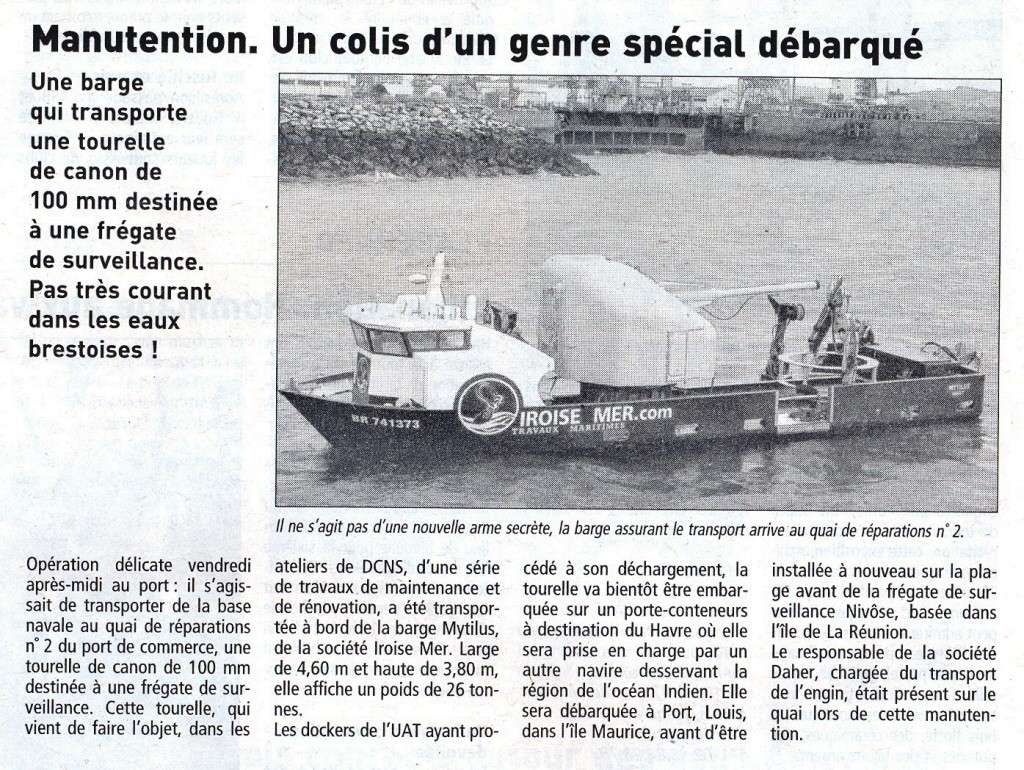 [Les ports militaires de métropole] Port de Brest - TOME 1 - Page 37 100_mm10