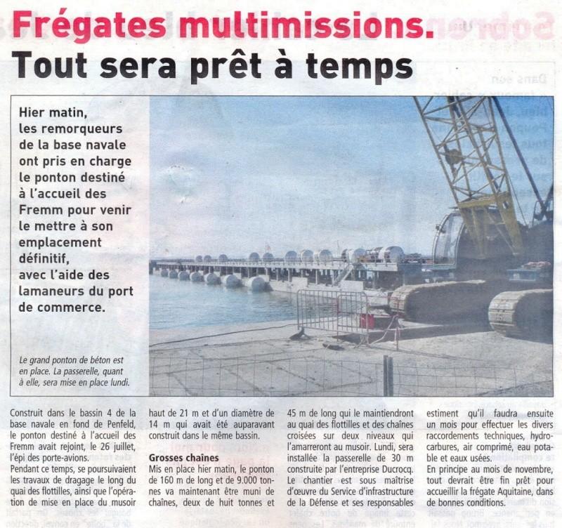 [Les ports militaires de métropole] Port de Brest - Page 39 Quai_f11