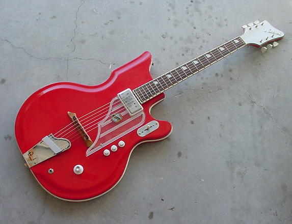 Guitar National new port 82.84.88 et val pro 1960sn10