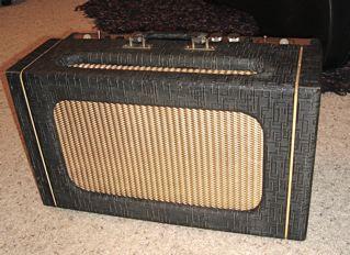 "1959 Gretsch Stereo amp"" head"" 310"