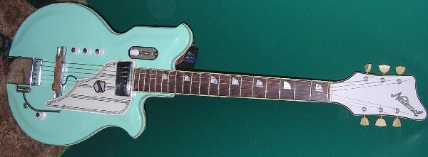 Guitar National new port 82.84.88 et val pro 64nat810