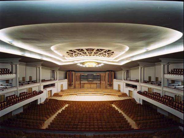 Styles des salles de concert, opéras, théâtres, ... Bozar_10