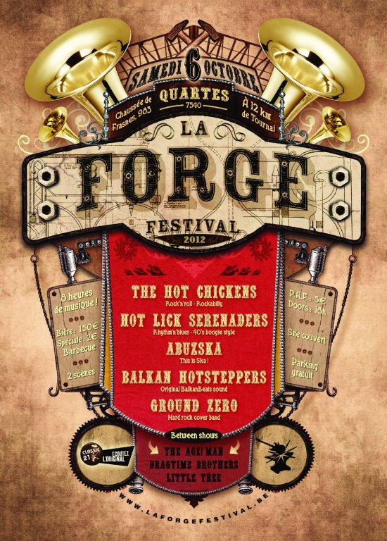 La Forge Festival 2012 : Concert Affich10