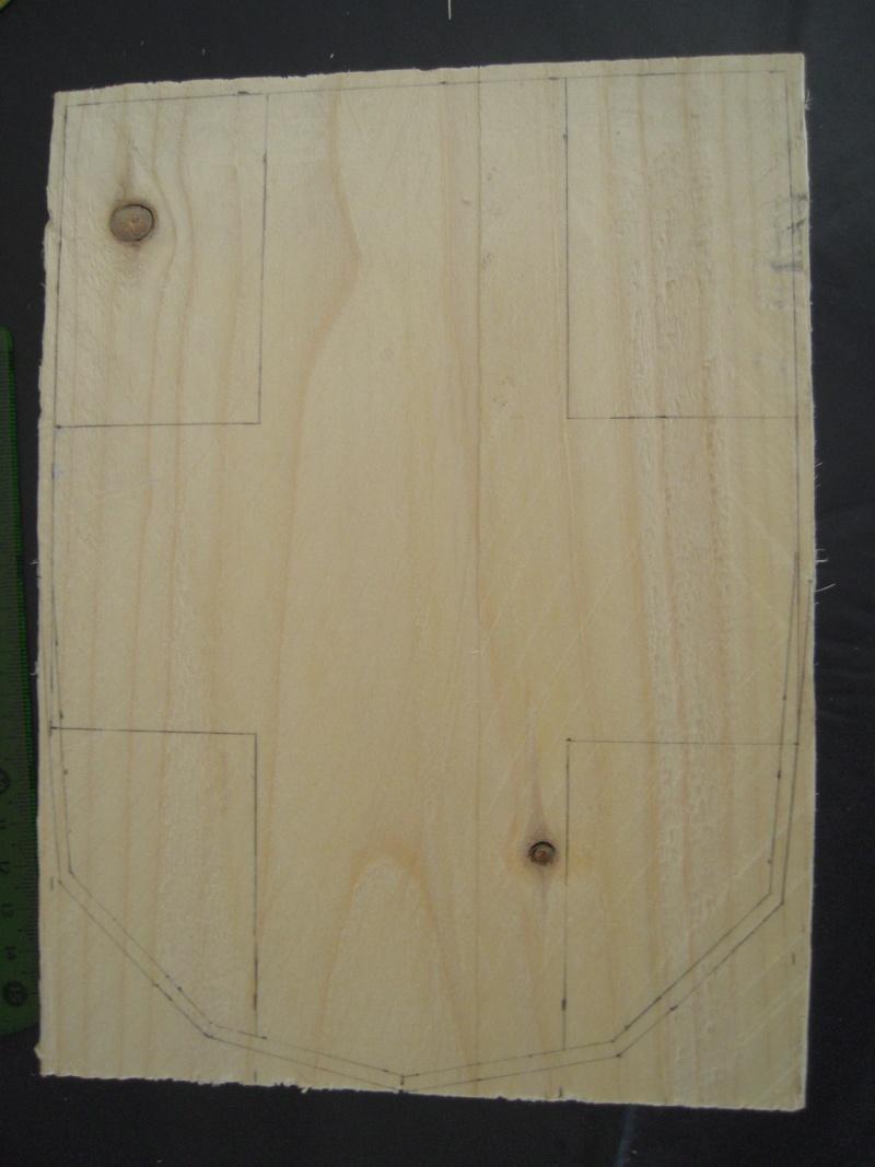 Drapeau Savoie scupture bois (premier projet) Dscn8111