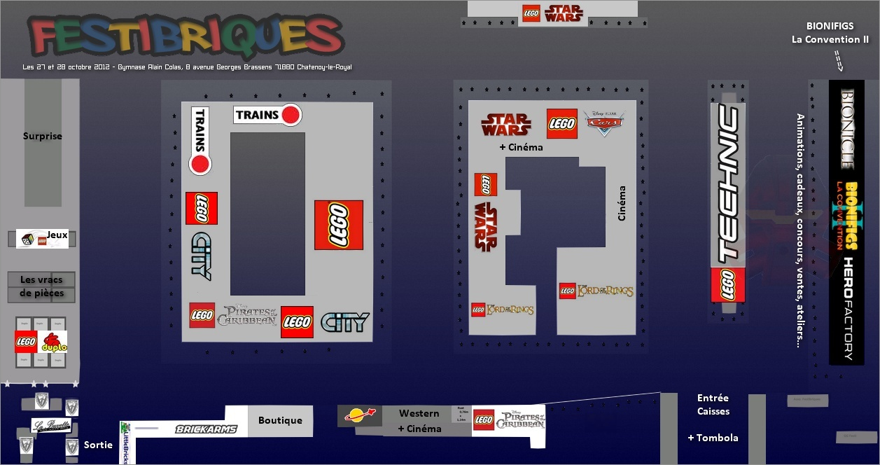 [Expo] BIONIFIGS La Convention II : le Programme complet des animations Plan_a11