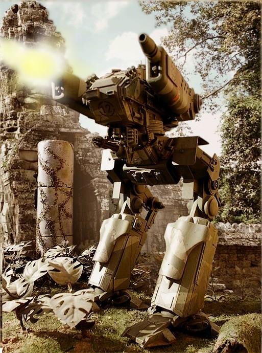 Marcheur M500 DRAGOON - Page 4 Robotj10