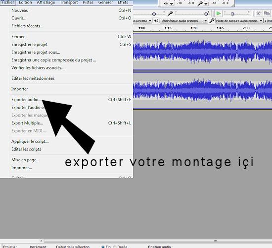 Comment enregistrer vos chansons Export10