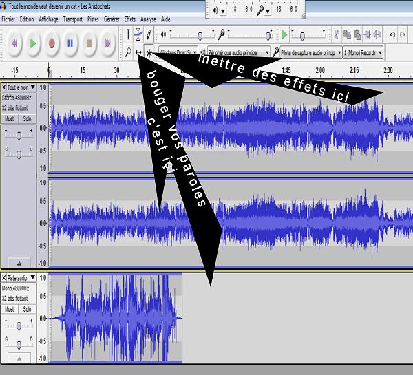 Comment enregistrer vos chansons Regleg10