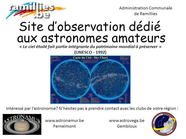 Panneau pour le site de Ramillies 8-03-210