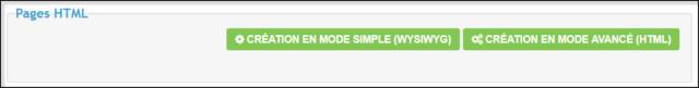 Gestion des pages HTML 05-08-18
