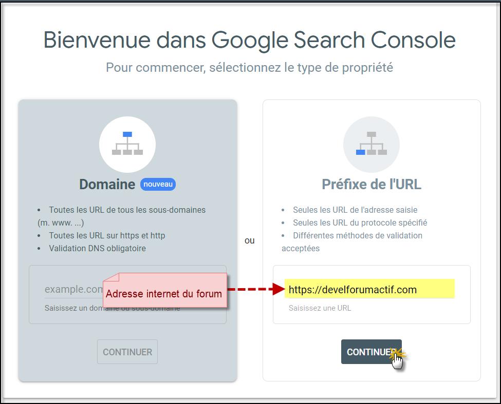 Intégrer Google Search Console sur un Forumactif 13-08-18