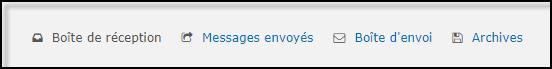 Gestion de la messagerie Privée (MP) 19-08-61
