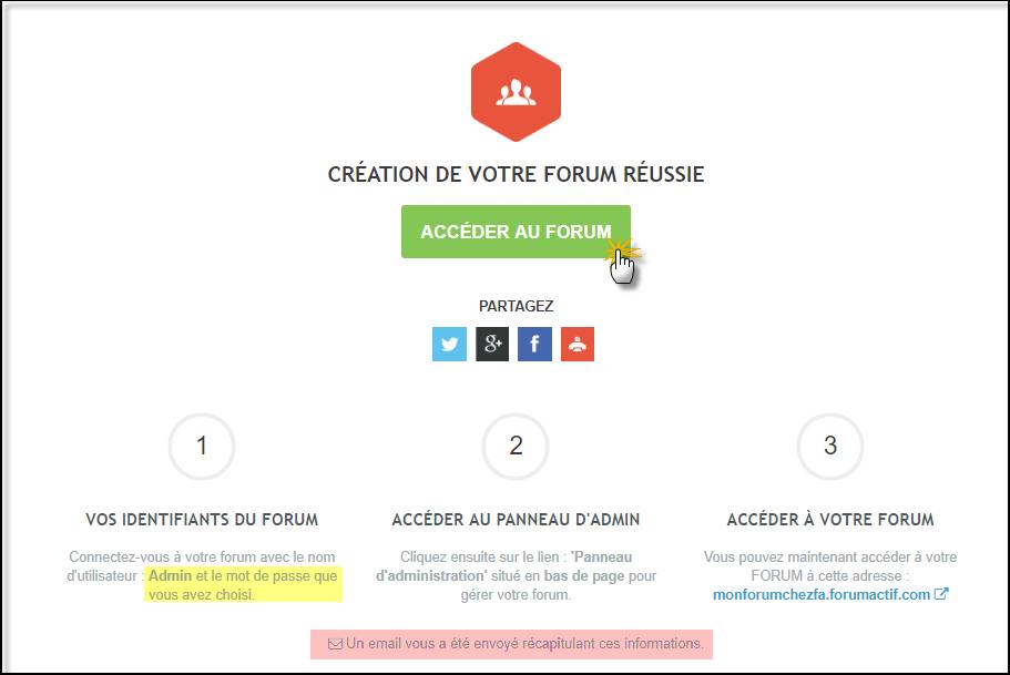 Créez votre Forum Forumactif de A à Z 20-07-14