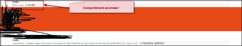 [code] n'affiche plus le BBcode dans les messages invités 21-06-15