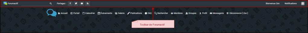 Fonctionnement de la toolbar 31-07-19