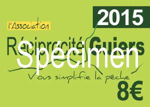 Achat timbre réciprocité Guiers en ligne Timbre13