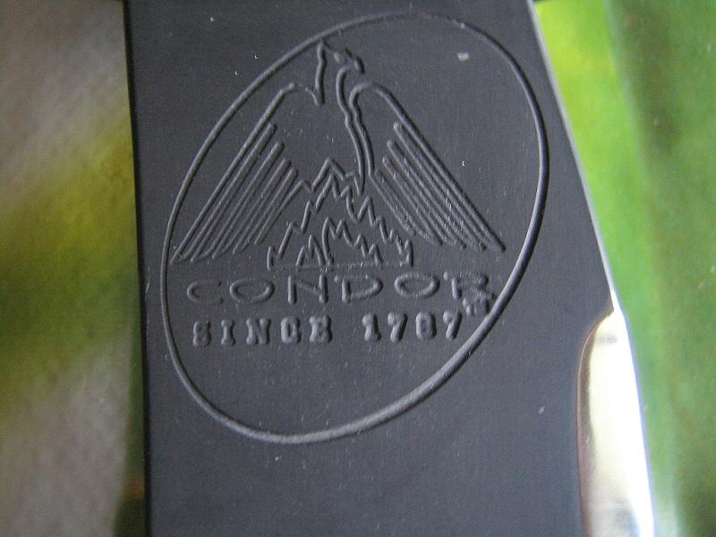 Couteau Condor et hache. Condor13