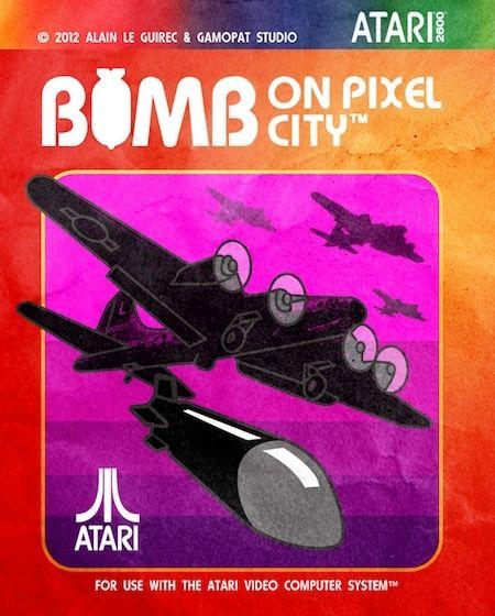 [ATARI 2600] Bomb on Pixel City Bomb10