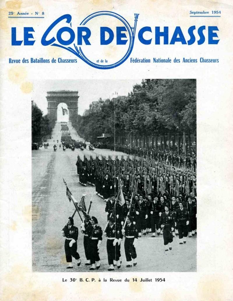Les 14 juillet Chasseur 1954_110