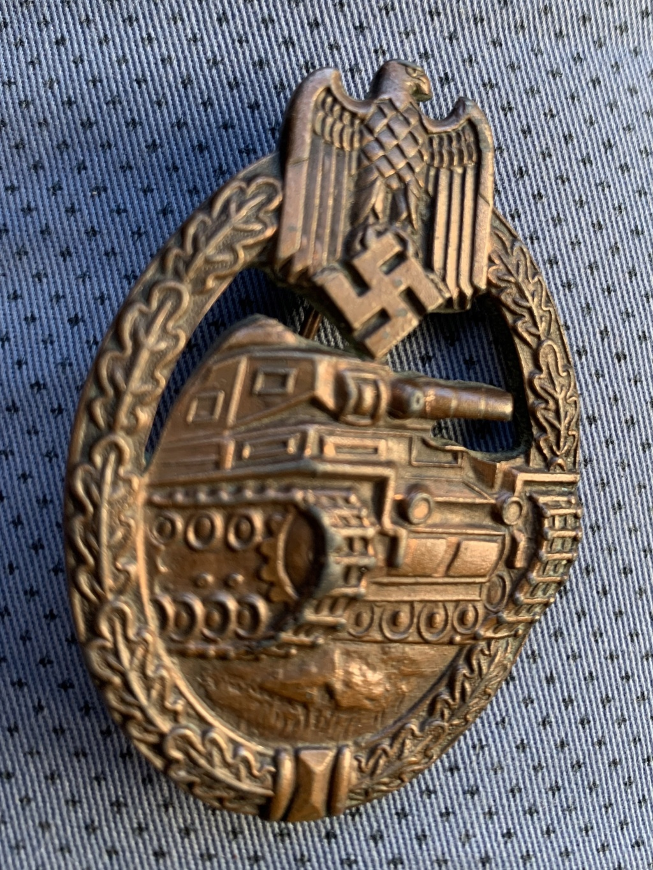 Panzer assault badge bronze copie ? 4d1bc510