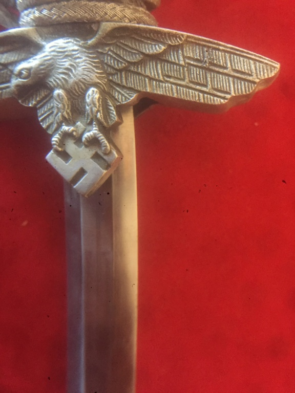 Identification. Authentification, valeur, dague allemande ww2 6f5edb10