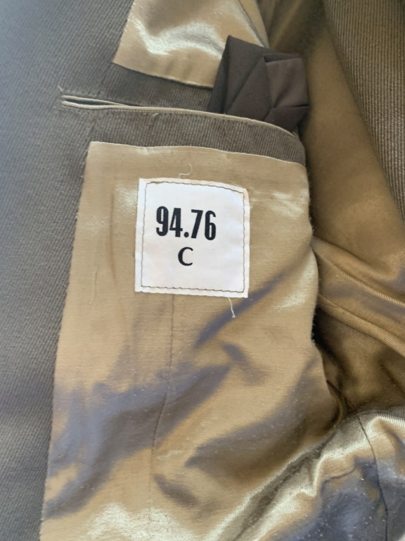Uniformes d'identifier  9cfd2810