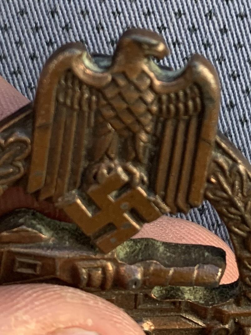 Panzer assault badge bronze copie ? A33a3d10