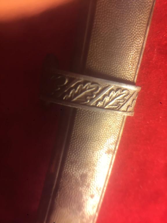 Identification. Authentification, valeur, dague allemande ww2 Acd70610