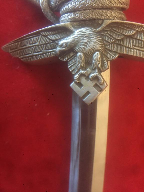 Identification. Authentification, valeur, dague allemande ww2 C0c7b110