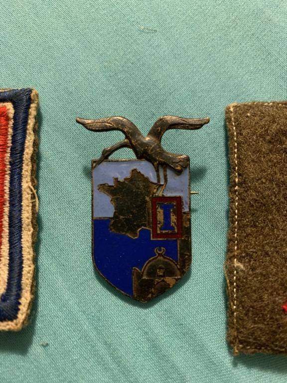 Rentrée de deux we Medaille / art de tranché /  Ed579810