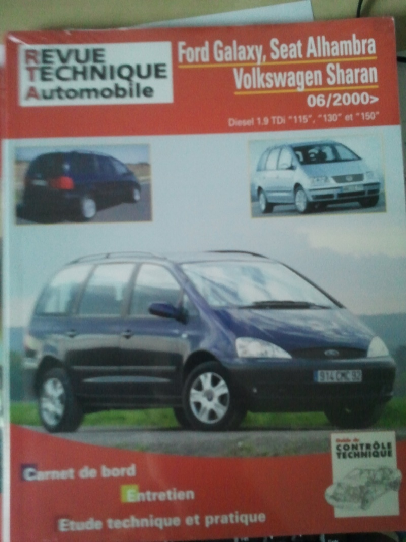 Vends: Revue Technique Rta Pour Ford Galaxy, Seat Alhambra, Vw Sharan 06/2000> Photo113