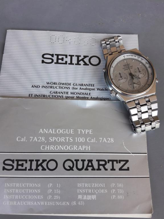 [Baisse de prix][Vends] Seiko 7a28-707a 20190814