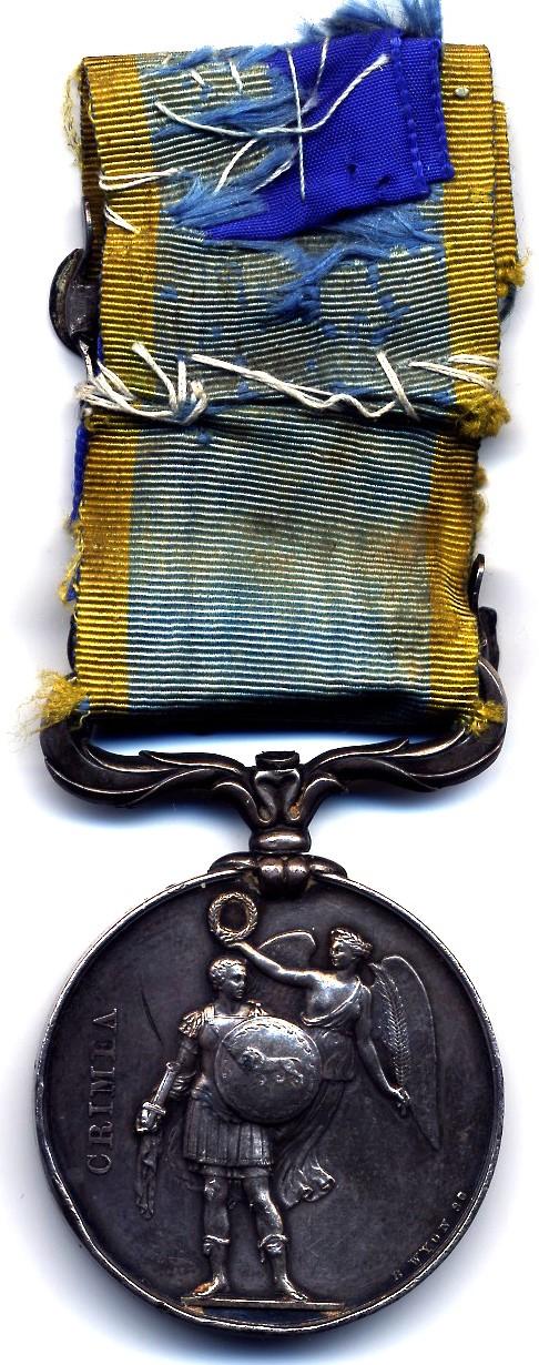 Guerre de Crimée et la médaille de la campagne d'Italie contre les Autrichiens  Sebast10
