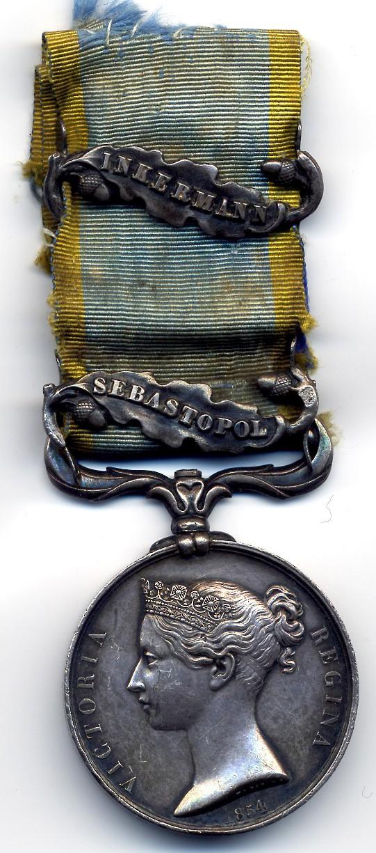 Guerre de Crimée et la médaille de la campagne d'Italie contre les Autrichiens  Sebast11
