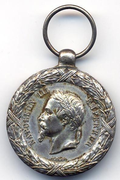 Guerre de Crimée et la médaille de la campagne d'Italie contre les Autrichiens  Solfer10