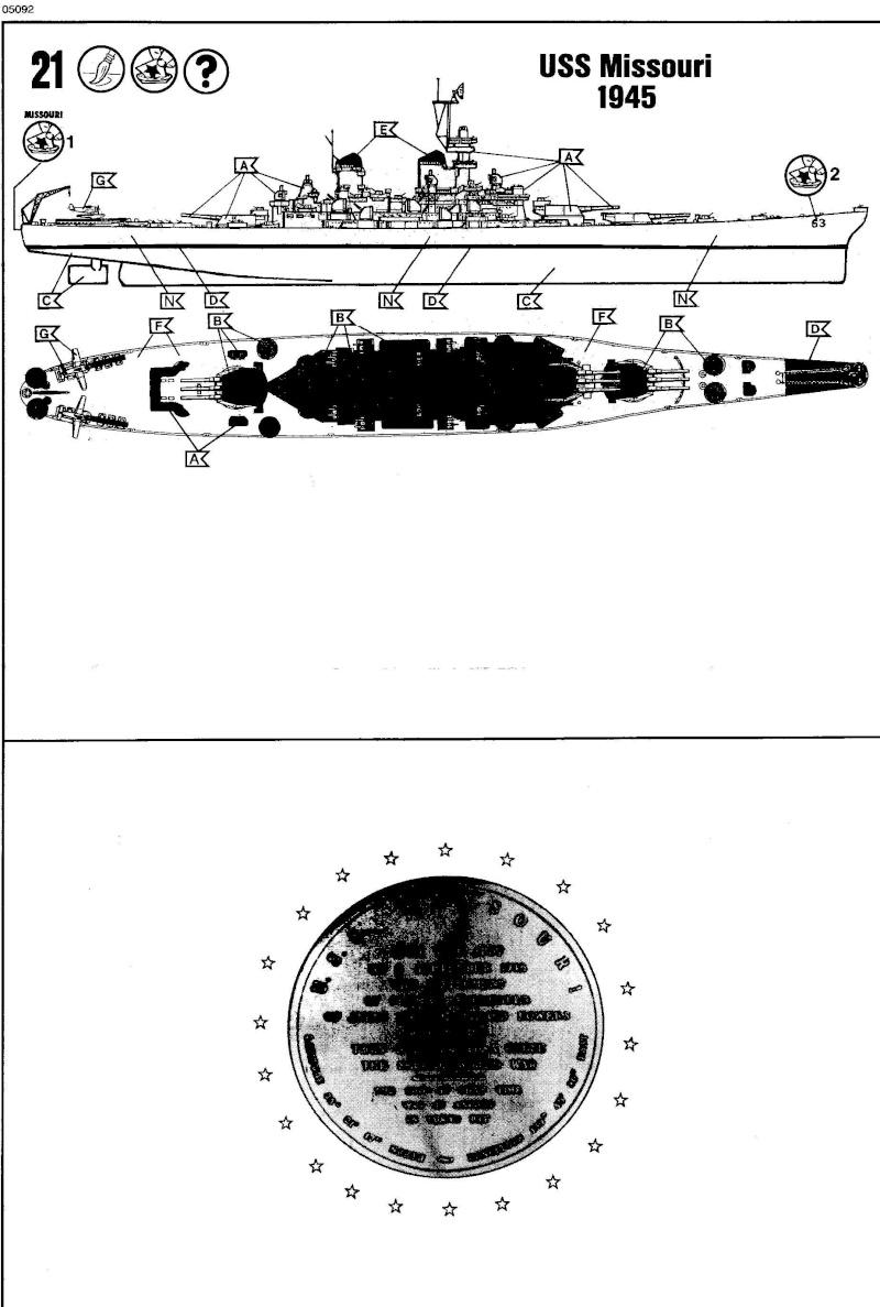 USS MISSOURI 1/535 - Revell Img18210