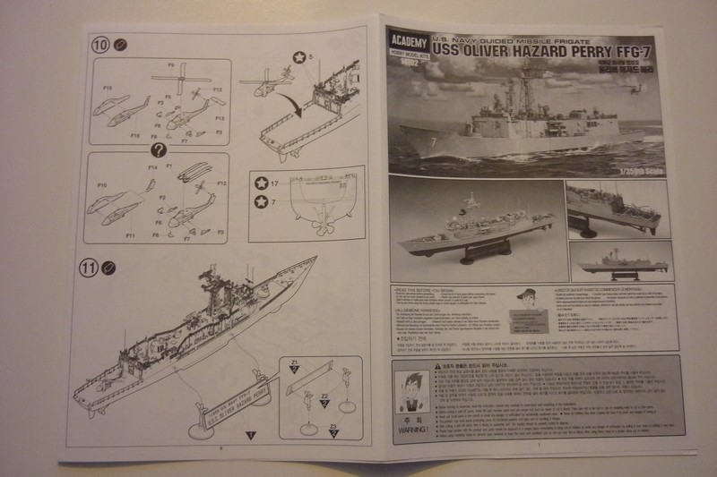 USS Oliver Hazard Perry FFG-7 1/350 - Academy Page_110