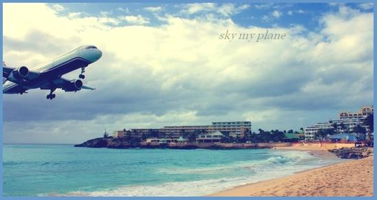 Sky my plane -- Prasen10