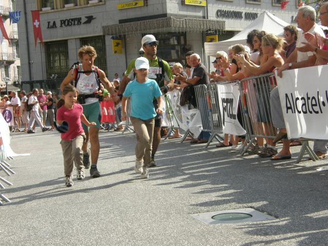 [UTMB 2008] Thierry Arrive10