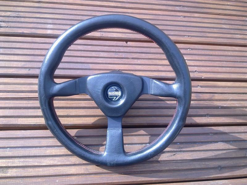 Momo V35 wheel and boss - a classic 80/90's wheel - MINT! Momo_110