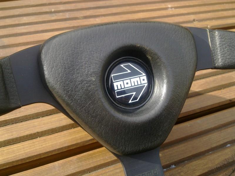 Momo V35 wheel and boss - a classic 80/90's wheel - MINT! Momo_210