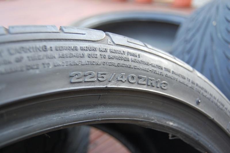 225/40/18 Dunlop SP Sport 9000 tyres x4 Tyres_11