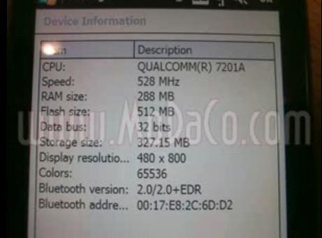 accelerometre - Le nouveau HTC TOUCH ou HTC Touch HD 110