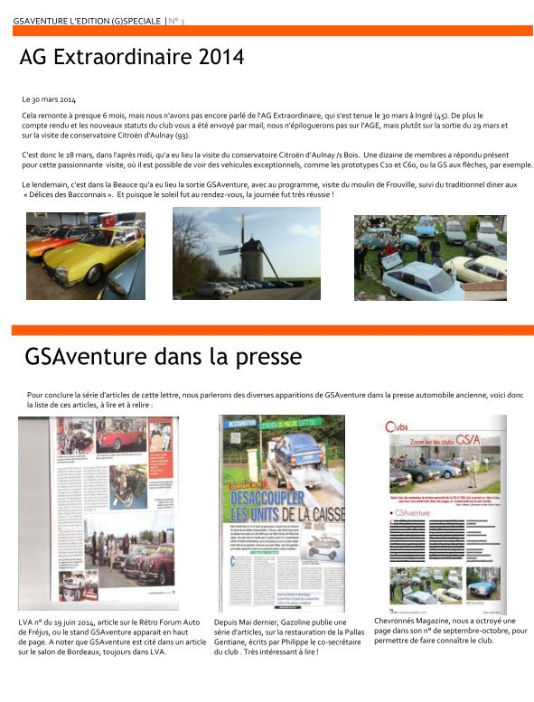 Newsletter Newlet15