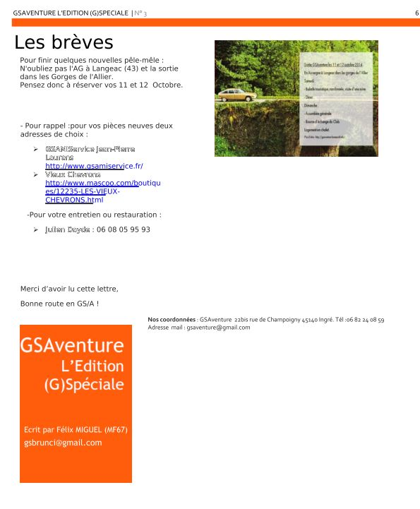 Newsletter Newlet16
