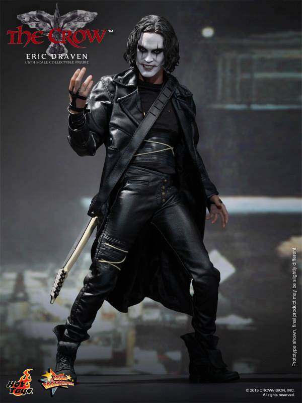 HOT TOYS -  The Crow - Eric Draven 10030110