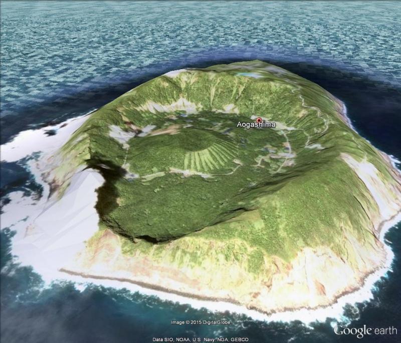 ile volcanique Aogashima, archipel izu, japon Aogash10